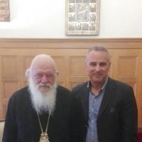 Συνάντηση με Αρχιεπίσκοπο Αθηνών και Πάσης Ελλάδος κ.κ. Ιερώνυμο Β'