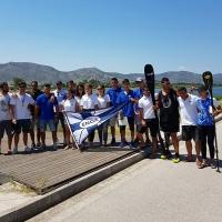 5η θέση στην Πανελλήνια Κατάταξη κανοε καγιάκ Σπριντ & Sup