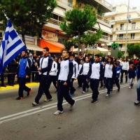 Συμμετοχή στην παρέλαση της 28ης Οκτωβριου